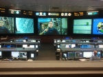 During the NASA Social, participants got a sneak peak of the Mission Control Room just as an astronaut on-board the ISS was prepping for an unrelated press conference.
