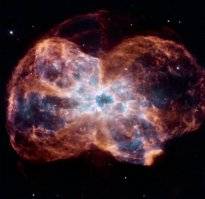 The death of a sun-like star (Courtesy NASA, ESA, K. Noll)
