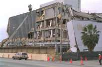An example of the severe damage sustained by thousands of buildings following the 1994 Northridge earthquake. Credit: USGS